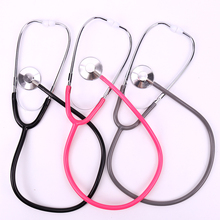 1PC stetoskop pomoc jednostronnie EMT stetoskop kliniczny przenośny sprzęt medyczny osłuchiwanie stetoskop narzędzie medyczne