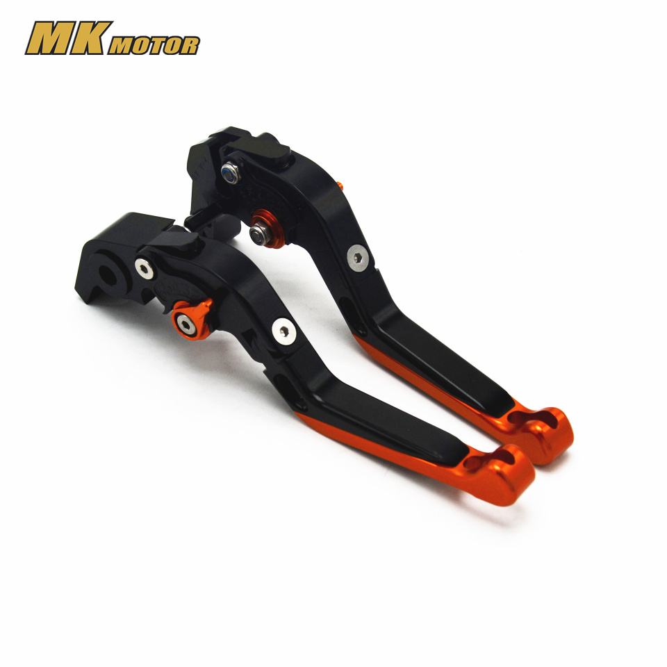 CNC Aluminum Brake Clutch Levers Motorcycle Racing Adjustable lever For KTM 1290 Super Duke R  2014 2015 2016 motorcycle front rider seat leather cover for ktm 125 200 390 duke