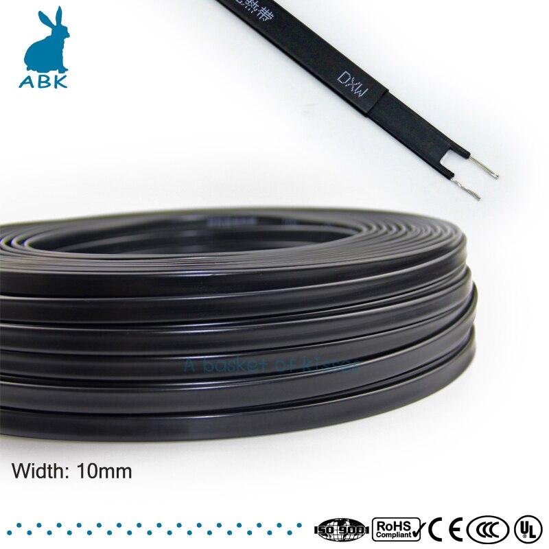Selbst Regulierung Dach Enteisung Heizung Kabel Wasser Rohr Schutz 10 M 220 V Typ Heizung Band