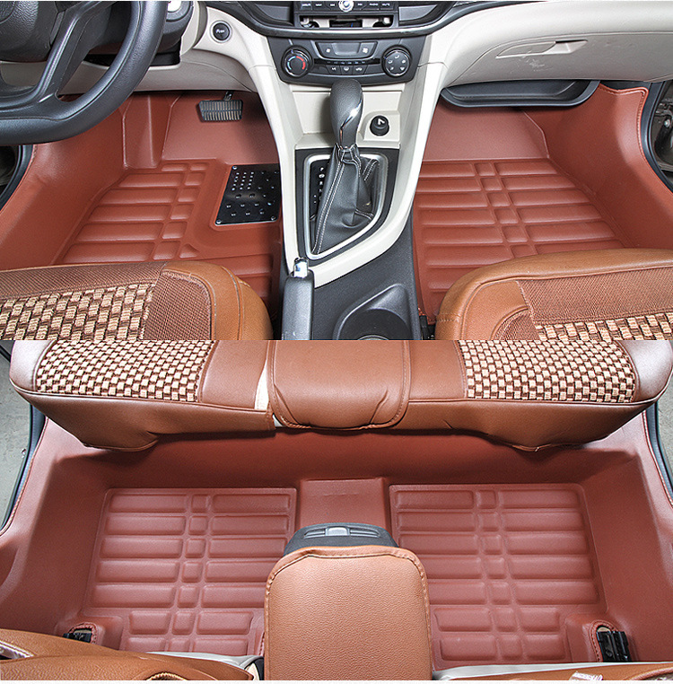 Myfmat custom foot leather new car floor mats for <font><b>Chrysler</b></font> Sebring <font><b>300C</b></font> PT Cruiser Grand Voyager free shipping classy waterproof image