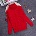 2-10Y Children Clothes Full Sleeve Girls Boys Pullovers Turtleneck Sweaters Autumn/Winter Warm Cartoon Kids Outerwear KC-1547-4