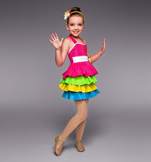 daa1d4f81 الأطفال الباليه الرقص اللباس اللون زي المسرحية التجارة الأصلي واحد الملابس  أداء الباليه اللباس للأطفال