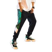 Casual Cotton Harem Pants Men Black Sport Hip Hop Sweatpants Japanese Streetwear Men Clothes 2018 Parkour Trousers Men 50na99