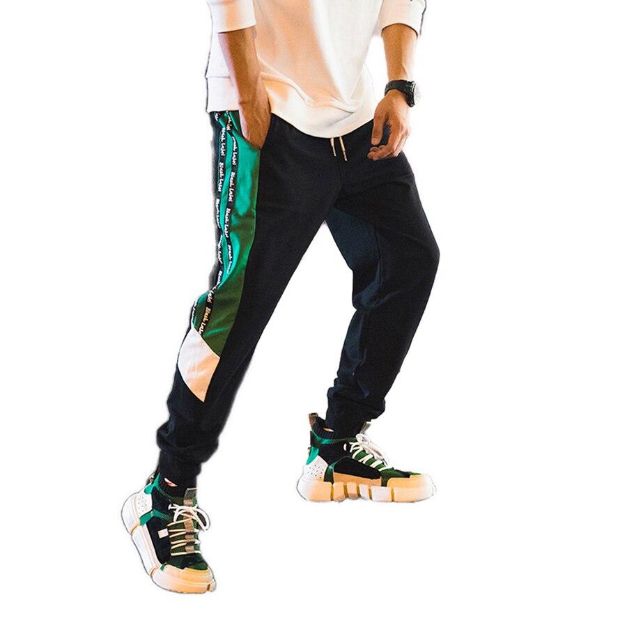 Décontracté coton Harem pantalon hommes noir Sport Hip Hop pantalons de survêtement japonais Streetwear hommes vêtements 2018 Parkour pantalon hommes 50na99