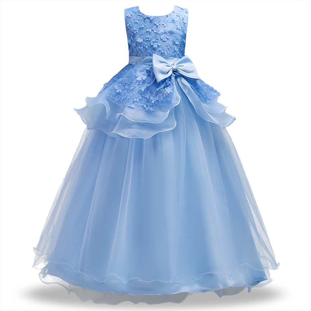 2017 tulle tutu flower girls dresses princess toddler baby kids clothes teenager girl dress 2 4 5 7 9 11 years birthday clothing Christmas Lace Tutu Patchwork Girls Dresses Princess Toddler Baby Kids Clothes Teenager Girl Dress 4-14 Years Birthday Clothing