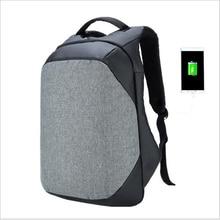 Backpack USB Charging Men 16inch Laptop Backpacks for Teenagers Male Mochila Waterproof Travel Backpack School Bag Dropship