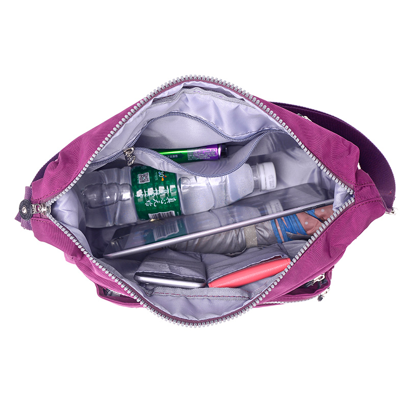 bolsa de nylon casuais originais Women Messenger Bags : Bolsa Feminina