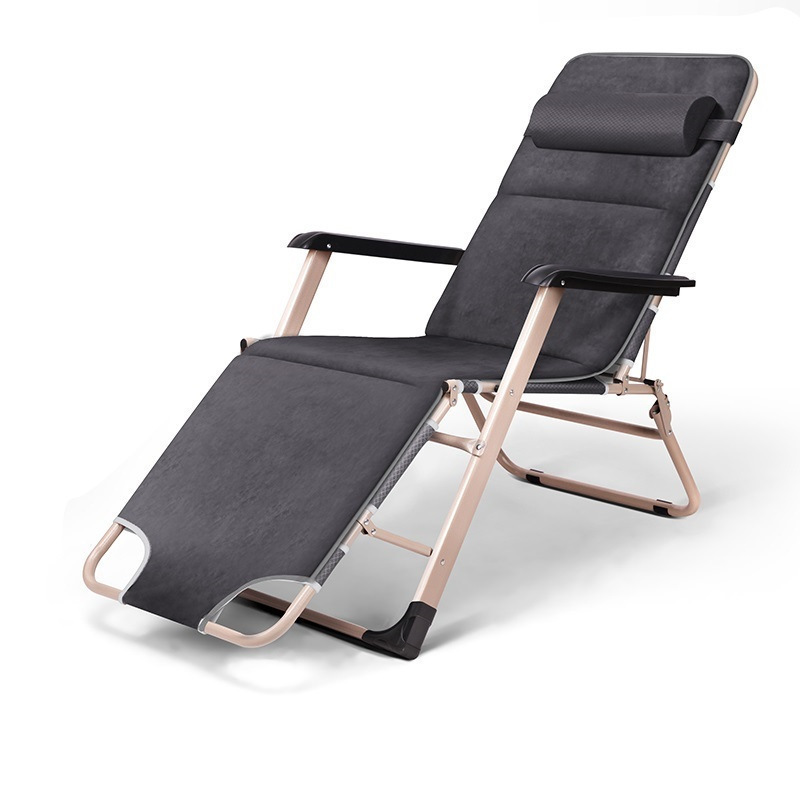 Enjoyment office nap folding bed, leisure beach cr, rest single bed Chaise Lounge beauty rest folding office cr nap lying simple beach bed chaise lounge