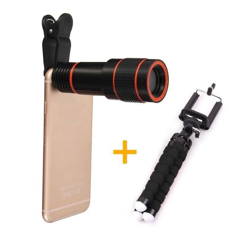 For iPhone <font><b>Phone</b></font> <font><b>Lens</b></font> Camera, 8X <font><b>Zoom</b></font> Telephoto <font><b>Lens</b></font> for Smartphones for Xiaomi Huawei for LG HTC etc cellphones