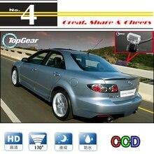 Автомобильная камера для Mazda 6 M6, мазда 6 Atenza 2002~ 2008, высокая камера заднего вида для PAL или NTSC/CCD+ RCA