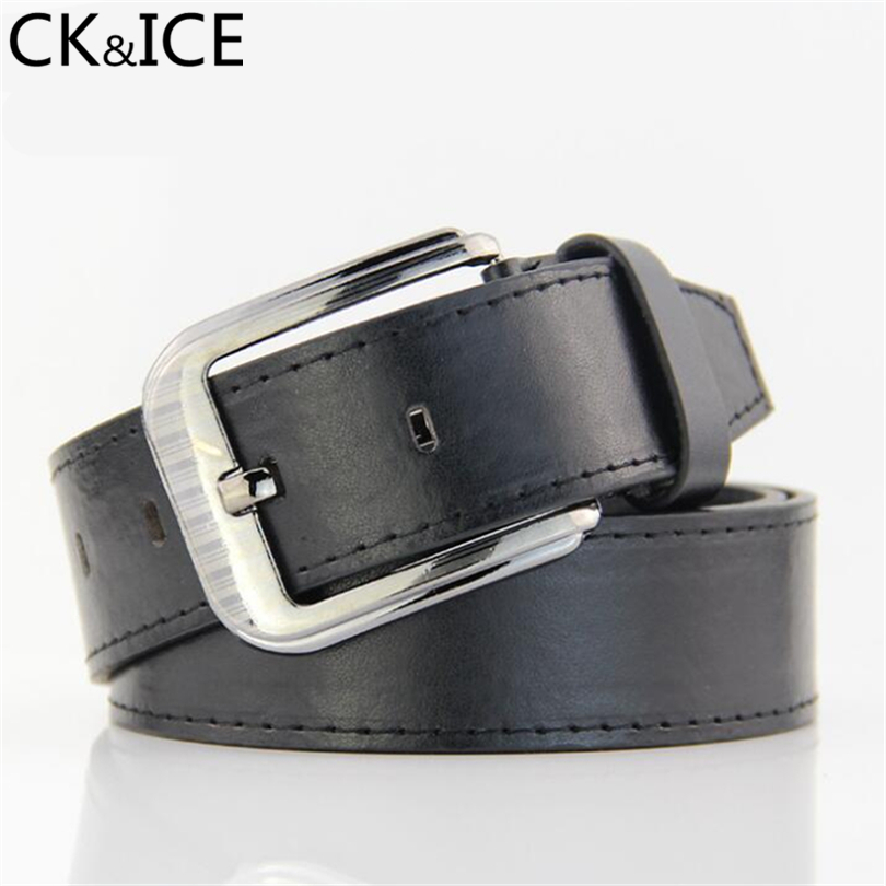 CK&ICE Hot Fashion Designer Belts Men High Quality Leather Belt Man Fashion Strap Male Belts For Men Jeans Cowboy