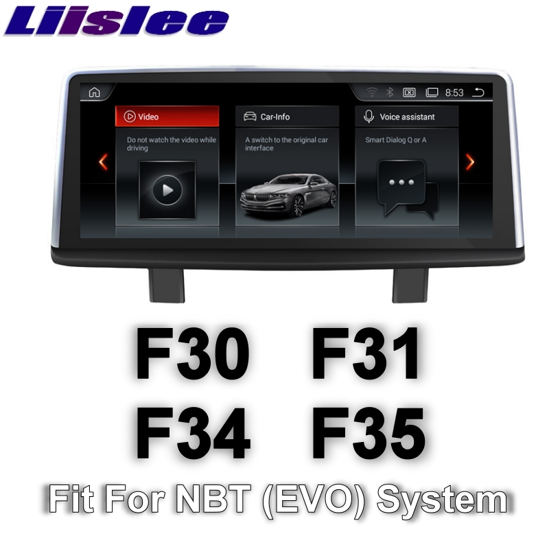 цена на For BMW 3 F30 F31 F34 F35 2011~2017 LiisLee Car Multimedia GPS Audio Hi-Fi Radio Stereo Original Style For NBT Navigation NAVI