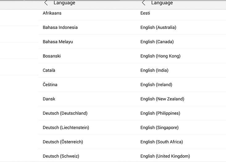 language b