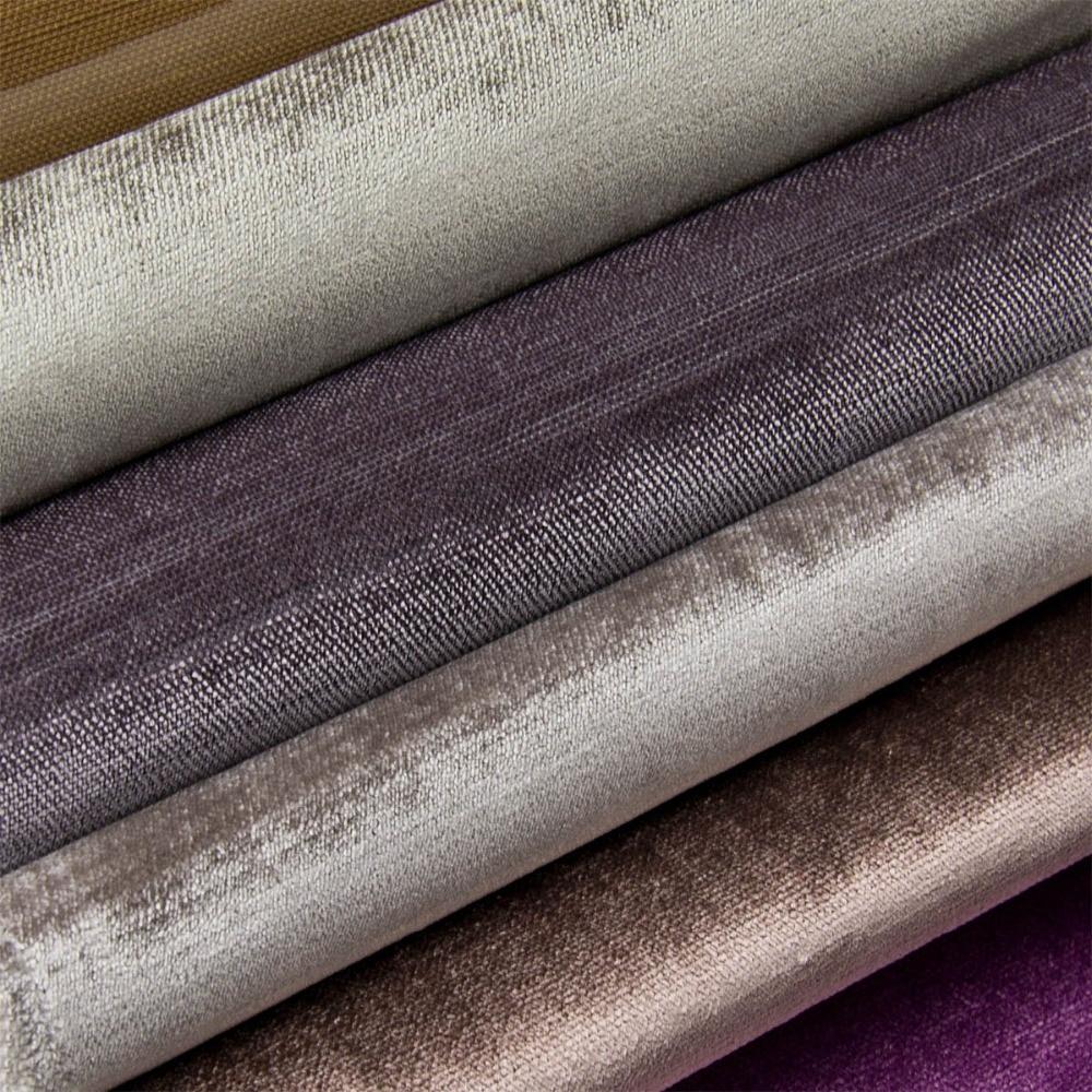 Wx0693 velvet fabric for curtain sofa upholstery for Velvet material for curtains