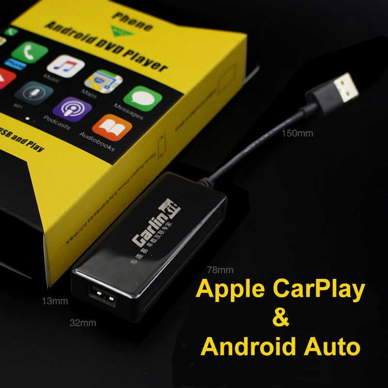 Carlinkit USB CarPlay Adapter for Android Car head unit Zbox2 Plug and Play for Touch screen