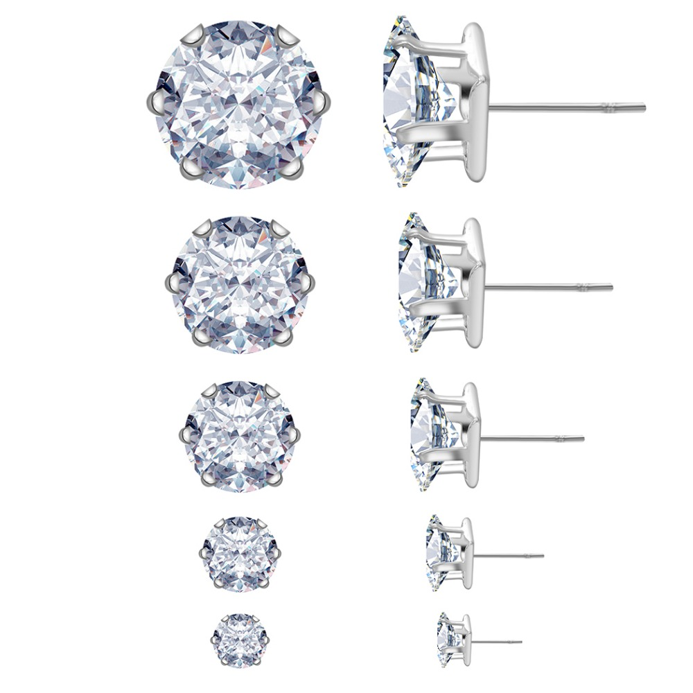 Compare Prices On 4mm Diamond Stud Earrings Online