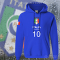 Italy nation team hoodies men sweatshirt sweat suit hip hop streetwear footballer sporting 2017 ITA Italia Italian Italiana flag