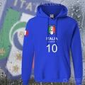 Italy nation team hoodies men sweatshirt sweat suit hip hop streetwear footballer sporting 2017 ITA Italia Italian Italiana flag