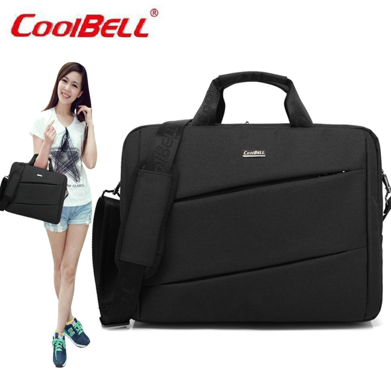 COOLBELL Brand 14.6/15.6 inch Notebook Computer Laptop Sleeve Bag for Men Women Cover Case Briefcase Shoulder Messenger Bag-FF brand waterproof 14 inch 15 inch notebook computer laptop bag for men women briefcase shoulder messenger bag li 1003