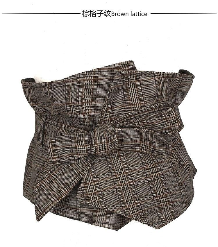 Marke Anzug Stoff Kleid Gürtel Frauen Schwarz 19 CM Breiten Zubehör Weibliche Caestus Abnehmen Korsett Gurt