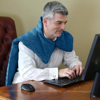 Charging Neck Shoulder Heating  Vibrating Decompression Massage Shawl Heat Wrap For Old People Health Care