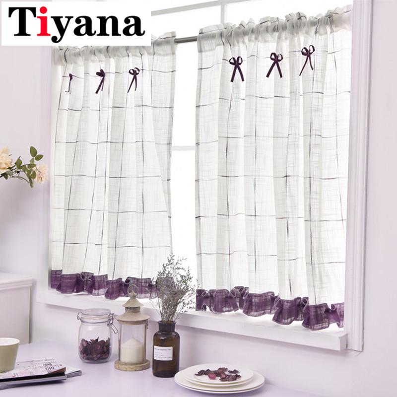 top 10 largest rustic cotton curtains for kitchen near me ...