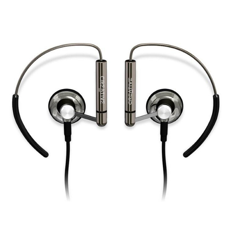 Creative Aurvana Air Headphones In-Ear Nickel Titanium Sports Hifi Earphones For Mobile Phone PC Computer