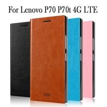 MOFI Телефон чехол для Lenovo P70 P70t 4 г LTE сотовый телефон чехол для Lenovo P70 P70t 4 г LTE Роскошный откидную крышку кожаный чехол