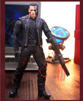 Hot The Terminator Robot T 800 Arnold Schwarzenegger Classic James Cameron Sci Fi Movie 18cm Action