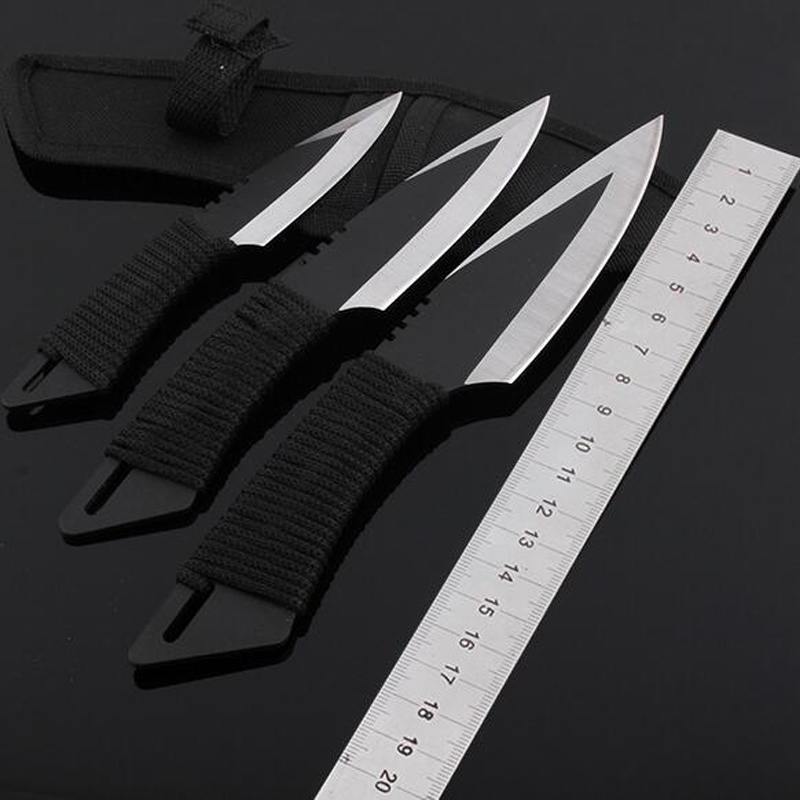 3 шт./лот тактический фиксированным лезвием Ножи министерство охраны окружающей среды Navajas Faca выживания нож для походов и охоты, кемпинга,