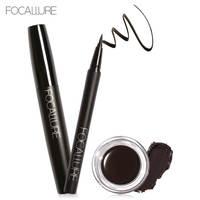 Foacallure 3pcs Set Makeup Set Including Volum Mascara Eyeliner And Eyebrow Cream Makup Tool Kit