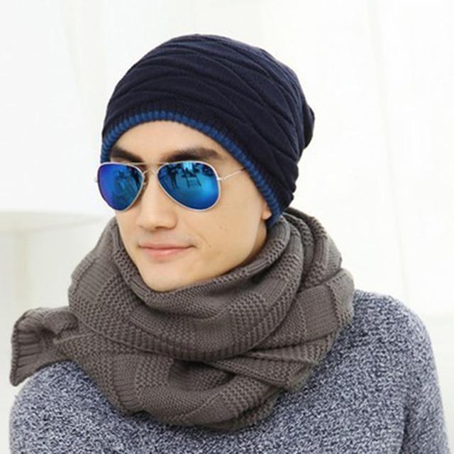 Forwell 2016 Beanies Knit Men's Winter Hat Caps Skullies Bonnet Winter Hats For Men Women Beanie Wool Warm Baggy Knitted Hat