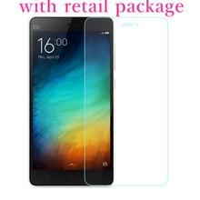 For Xiaomi mi4c Screen Protector Tempered glass 9H 2.5D 0.26mm Explosion Proof Glass film for xiaomi mi4i mi4s mi 4c 4 mi4