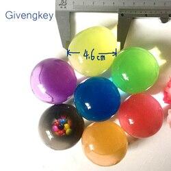 20 قطع المياه حبات اللؤلؤ شكل الكريستال التربة الناعمة الكرة السحرية الكرة هيدروجيل بولس الماء كرة الماء اللعب للأطفال