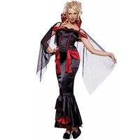 Nouveau Halloween Sexy Vampire Costume Fancy Dress Femmes Off Épaule Vampire Reine Costume Sexy Cosplay Costume M, L, XL W8373