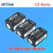 משלוח חינם 5 pcs HLK PM01 AC DC 220 V כדי 5 V צעד למטה אספקת חשמל מודול אינטליגנטי ביתי מיתוג AC DC ממיר