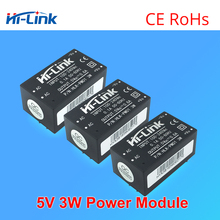 Free shipping 5pcs HLK PM01 AC DC 220V to 5V Step Down Power Supply Module Intelligent Household Switching AC DC converter