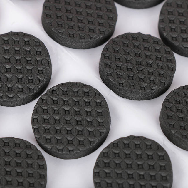 48 Pcs Non-slip Self Adhesive Furniture Rubber Table Chair Feet Pads Round Square Sofa Chair Leg Sticky Pad Floor Protectors Mat 2