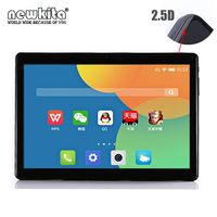 Newkita 2.5D Glass 1920*1200 IPS Pad 4G LTE 10 Deca Core Tablet 4GB+64GB ROM Android 7.0 GPS Metal Case Webcam PC Tablet 10.1