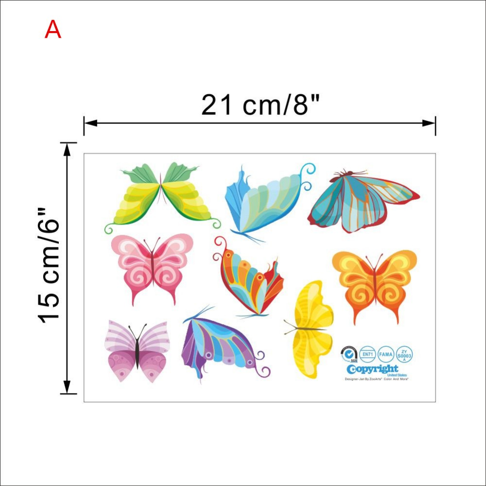HTB1ZsjwOVXXXXXEXXXXq6xXFXXXf - Charming Romantic Fairy Girl Wall Sticker For Kids Rooms Flower butterfly LOVE heart
