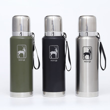 ENERGE SPRING 316 stainless steel large capacity kettle outdoor sports bottle all cup  super long insulation pot