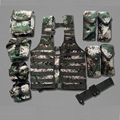 06 Tactical Vest fighting ten sets Gilet de Systeme Molle British Army Military Patrol US South AfricanTactical Combat Assault