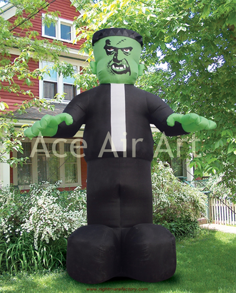 halloween inflatable decorations horrible standing frankenstein corpse for sale - Giant Halloween Decorations