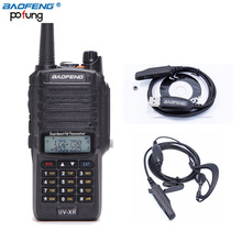 Baofeng UV-XR 10W High Power 4800mAh IP67 WaterProof Dual Band Walkie Talkie Two Way Radio+One Programming Cable+One Earpiece
