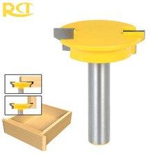 Rct fechadura de gaveta de haste de 1/2 '', broca roteadora para carpinteiro, gaveta, fechadura de madeira, ferramentas de corte