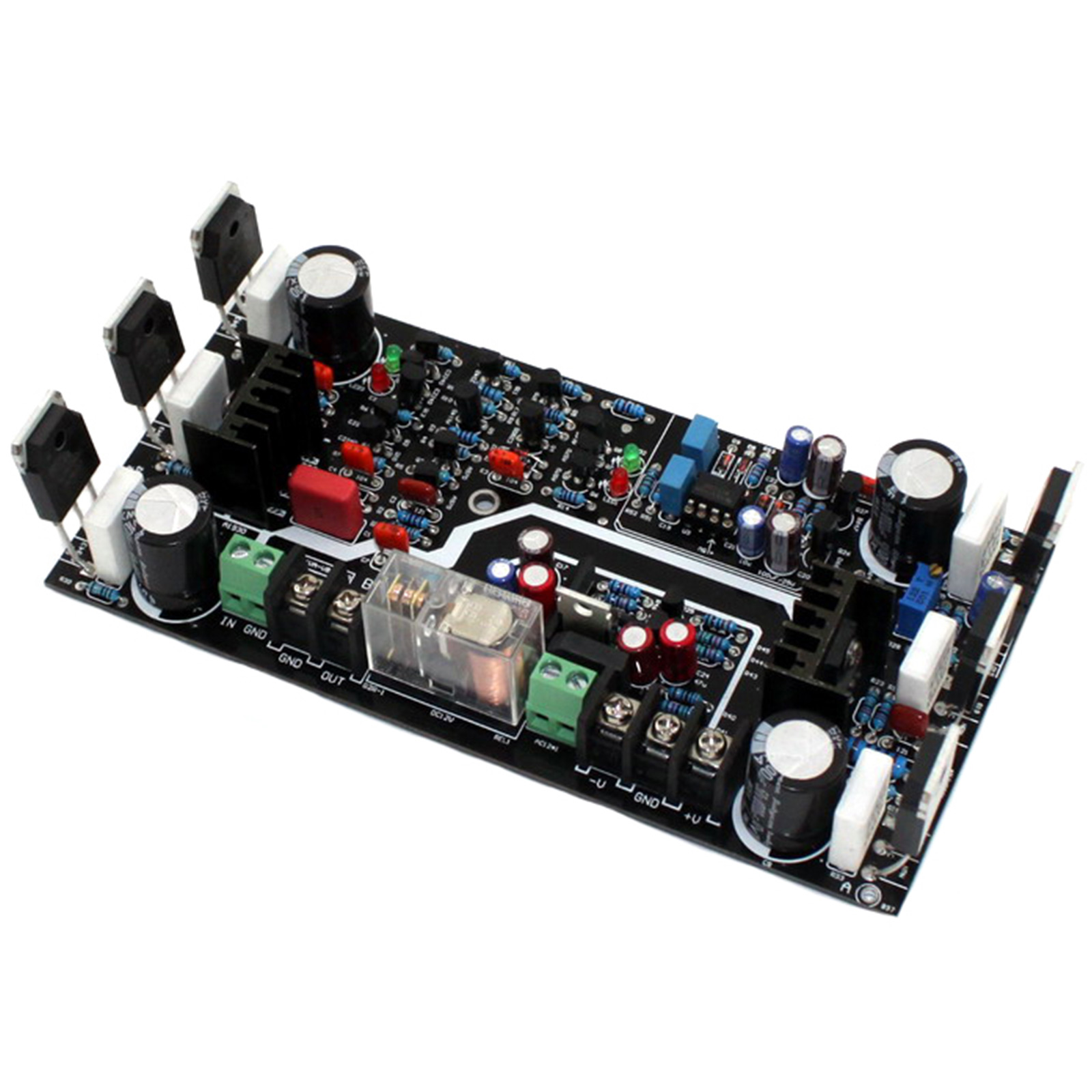 Assembled Marantz MA 9S2 250W NJW0281 NJW0302 2SA1930 2SC5171 with DC Servo Amplifier Board in Amplifier from Consumer Electronics