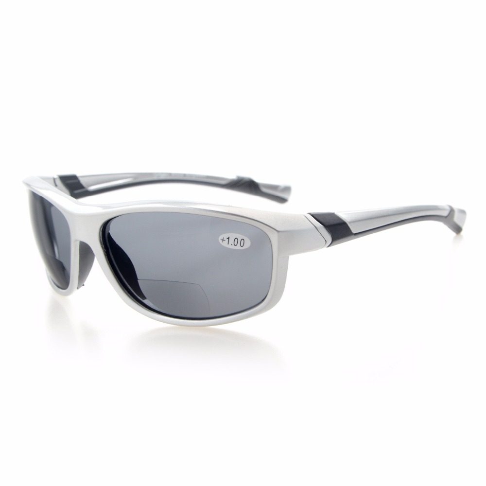 TH6170 Bifocal Eyekepper TR90 Unbreakable font b Sports b font Bifocal Sunglasses 1 0 1 5