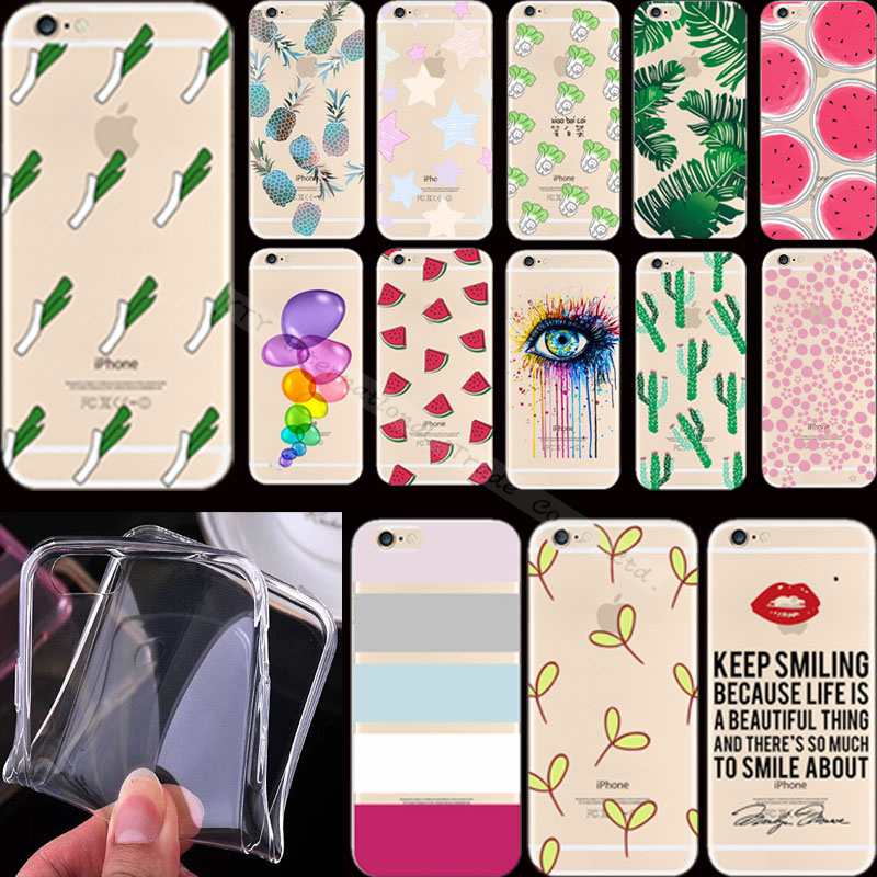 """6 6S Painting Delicious Pineapple Silicon Phone Cases Cover For Apple iPhone 6 iPhone 6S iPhone6S iPhone6 4.7"""" Case Cases Hot"""