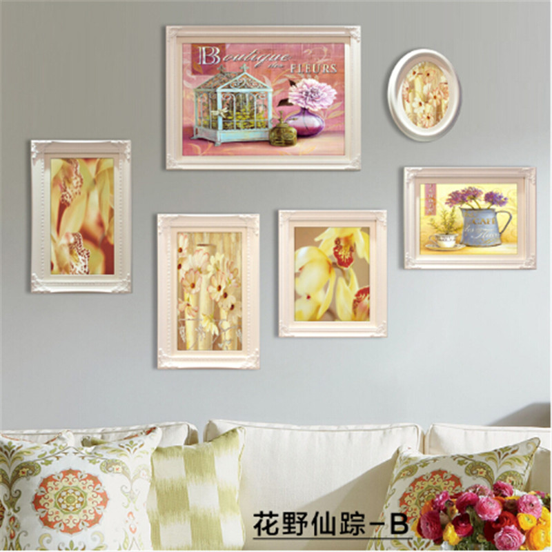 Picture Frame Contemporary Solid Wood Nostalgic Frame Vintage Wall ...