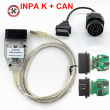2018 vstm para bmw inpa k + can k pode inpa com chip ft232rl, interruptor para bmw inpa k cabo de interface usb dcan com 20pin para bmw(China)